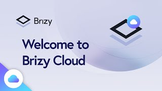 Welcome to Brizy Cloud | CLOUD 2020