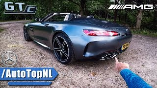 Mercedes AMG GT C REVIEW POV Test Drive by AutoTopNL