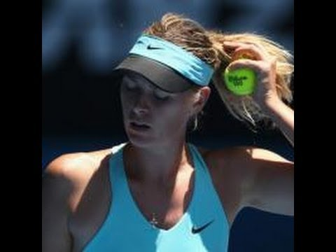 Maria Sharapova vs Lucie Safarova ~ Highlights -- WTA Miami 2014