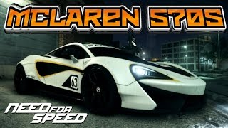 Need For Speed 2015 McLAREN 570S CUSTOMIZATION (INSANE GRIP BUILD)