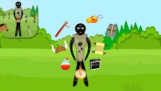 Stickman War Escape Animation Wins and Fails / Android Gameplay