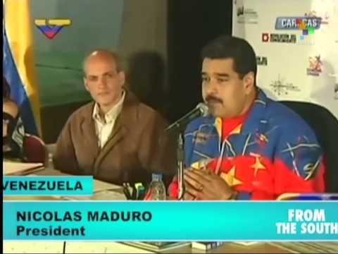 Venezuela: Maduro Charges that Supermarket Violence Was Planned