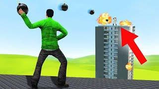 IMPOSSIBLE SKYSCRAPER BALL TAG! (Gmod Funny Moments)