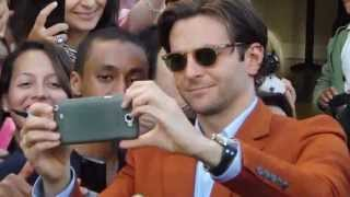 Bradley Cooper happier than ever signing autographs! (More at galatview.com)