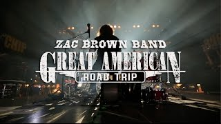 Video-Zac Brown Band -  Great American Road Trip – Pre-show jam with Darius Rucker