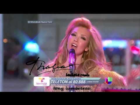 Thalia - Por Lo Que Reste De Vida (Bachata Remix) (Teleton Usa 2014)