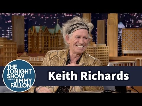 """Lead Belly Book Inspired Keith Richards' """"Goodnight Irene"""" Cover"""