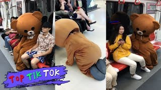 This bear is so cheap,TRY NOT TO LAUGH  !  Top Tik Tok memes in China,2018 P62