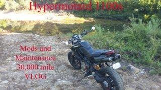Vlog about my 08 Ducati Hypermotard 1100s version 2.1