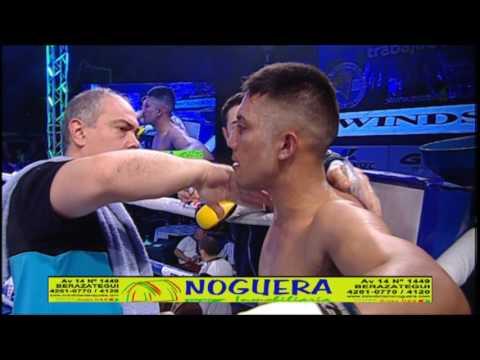 """EDUARDO """"EL NIÑO"""" CASAL VS JORGE ARCE - TRB BOXEO 23/06/2017"""