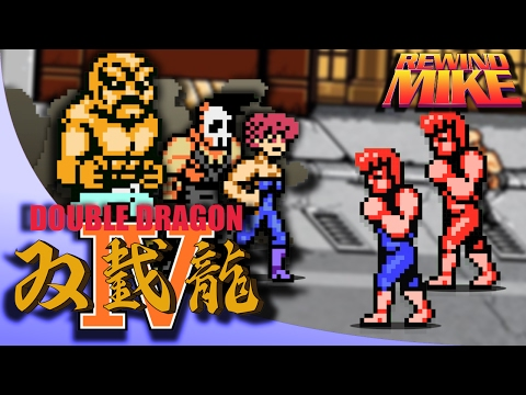 Double Dragon 4 Review   A Modest NES Beat'em up   Rewind Mike