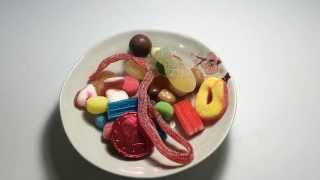 Eating ASMR / candy, chocolate, gummy candy / 젤리 먹기 / 3D
