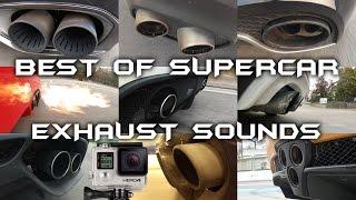 BEST of GoPro Supercar Exhaust SOUNDS! - F40, GTR, LFA, Veyron, 918 Spyder & More!