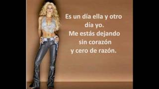 Shakira Video - Te aviso,  te anuncio-  Shakira.  Lyrics HD
