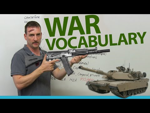 War & Military Vocabulary: Understand the news