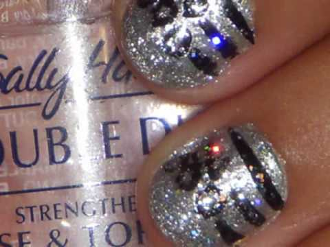 Shiny Jungle Nail Design: Easy&Quick Perfect for short nails Video