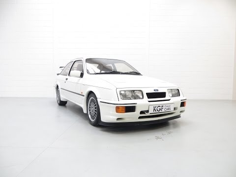 One of 56 White Ford Sierra RS500 Cosworths with an Incredible 13,077 Miles - SOLD!