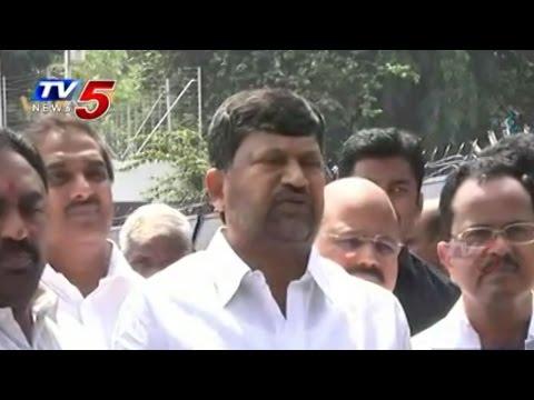 L.Ramana Talks to Media after Governor Meet : TV5 News