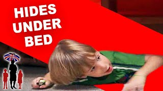Supernanny   Naughty Kid Hides Under Bed To Escape Time Out