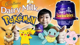 Cadbury Dairy Milk Lickables with POKEMON Toys Surprise