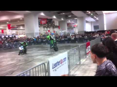 2011 International Motorcycle Show - Stunt Show Part 1