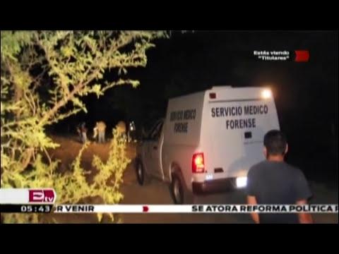 Ejecutan a niño sicario en Zacatecas ; ya había sido liberado / Titulares con Vianey Esquinca