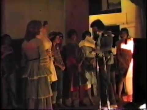 Womanless Wedding Menard TX 1979 Francis Fish Mistress of Ceremony