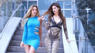 Expectations vs. Reality buying dresses online | Lele Pons & Hannah Stocking