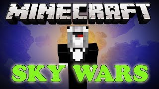 """GIVEAWAY"" Minecraft SKY WARS Mini Game w/ Rusher"