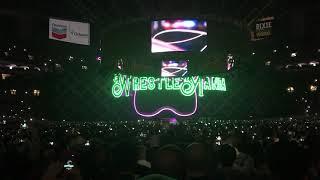 Wrestlemania intro + Seth Rollins live entrance