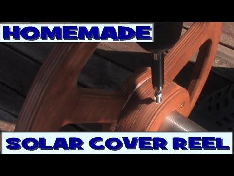 Homemade Pool Solar Cover Reel