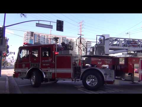 HD- Los Angeles Fire Department: Truck 60: North Hollywood, CA
