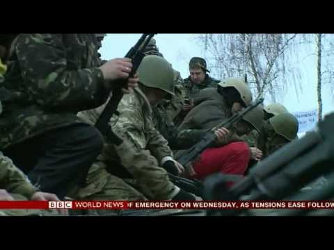 Ukraine Mobilizes Army as Russia Prepares to Annex Crimea