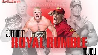 WWE Royal Rumble 2015 1/25/15 Review & Results | WORST ROYAL RUMBLE OF ALL TIME