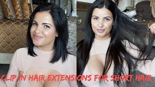 clip in hair extensions for short hair uniwigs