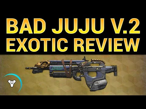 Planet Destiny: Updated Bad Juju Exotic Review