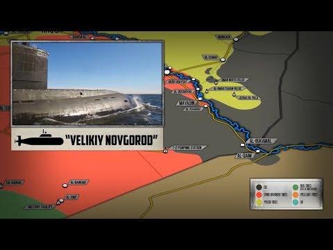 1 ноября 2017. Военная обстановка в Сирии и Ираке. Россия ударила «Калибрами» по ИГИЛ в Сирии.