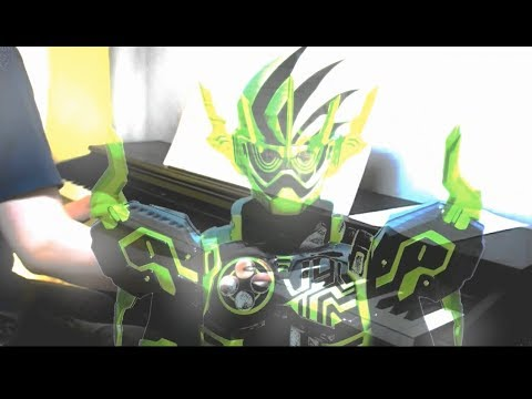 [piano] Kamen Rider EX-AID / JUSTICE -Theme Song Of Kamen Rider Chronos