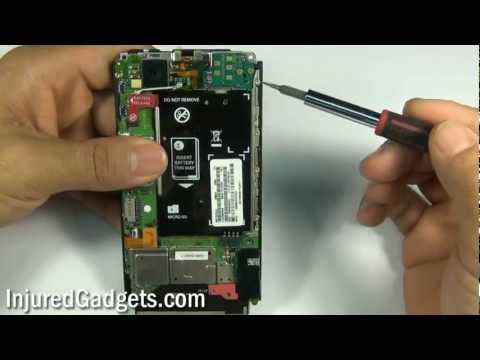 Motorola Droid X Touch Screen Glass Digitizer & LCD Display Repair Replacement Guide