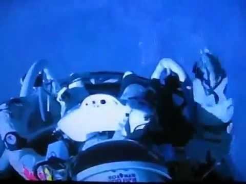 RedBull Stratos- The Moment When Felix Baumgartner Jumped - The Jump [14-10-2012]
