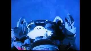 RedBull Stratos- The Moment When Felix Baumgartner Jumped - The Jump [14-10-2012]