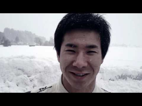 Winter Greetings from Sauber F1 Team with Kamui Kobayashi, Sergio Perez and Esteban Gutièrrez