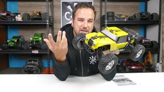 HBX 12891 Dune Thunder 4x4 Unboxing - 1/12th Scale RC Dune Buggy