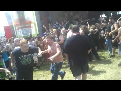 Mayhem 2013 - Job For a Cowboy