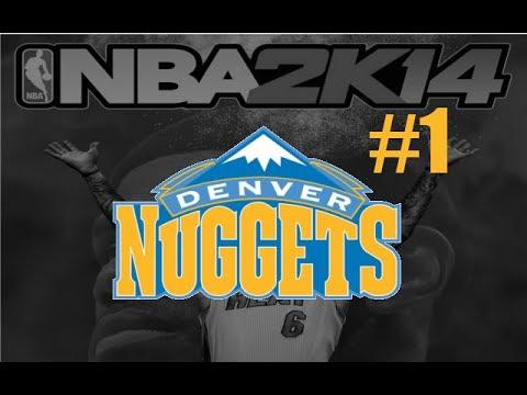 NBA 2K14 (PS4): Denver Nuggets MyGM - Episode 1: