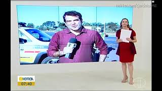 "Trecho inicial do ""InterTV Notícia"" - InterTV Grande Minas (18/04/2019)"