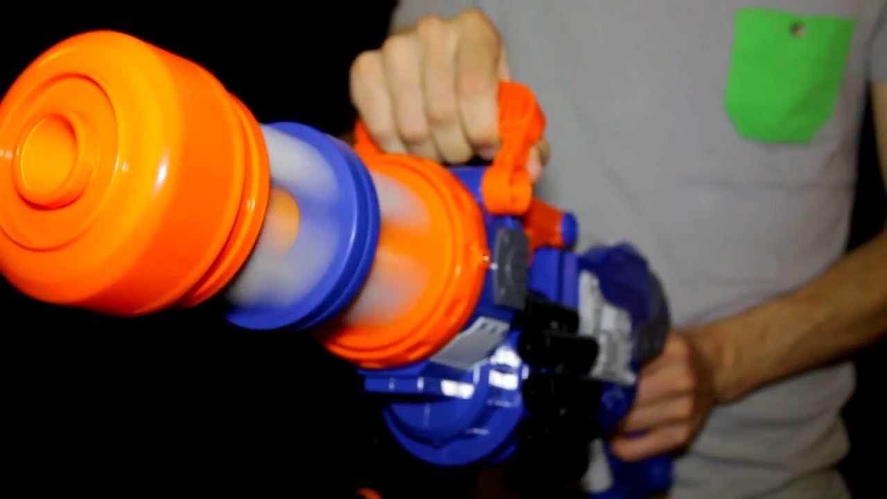 Amazoncom Nerf NStrike Vulcan EBF25 Dart Blaster