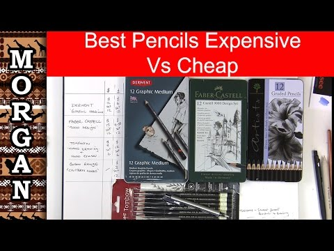 Best Graphite Pencils - Derwent, Faber Castell, TomBow + others