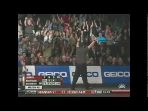 PBA - Lowest game bowled on tv - 100