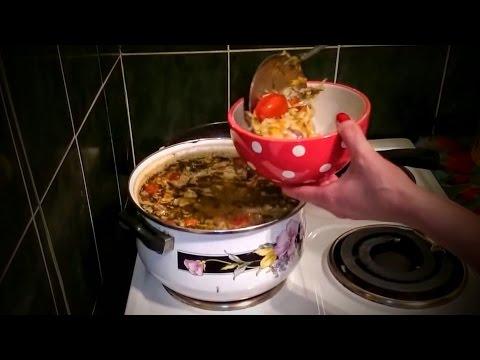 Щи из квашеной капусты Рецепт свежей Что как приготовить обед домашних условиях быстро вкусно видео